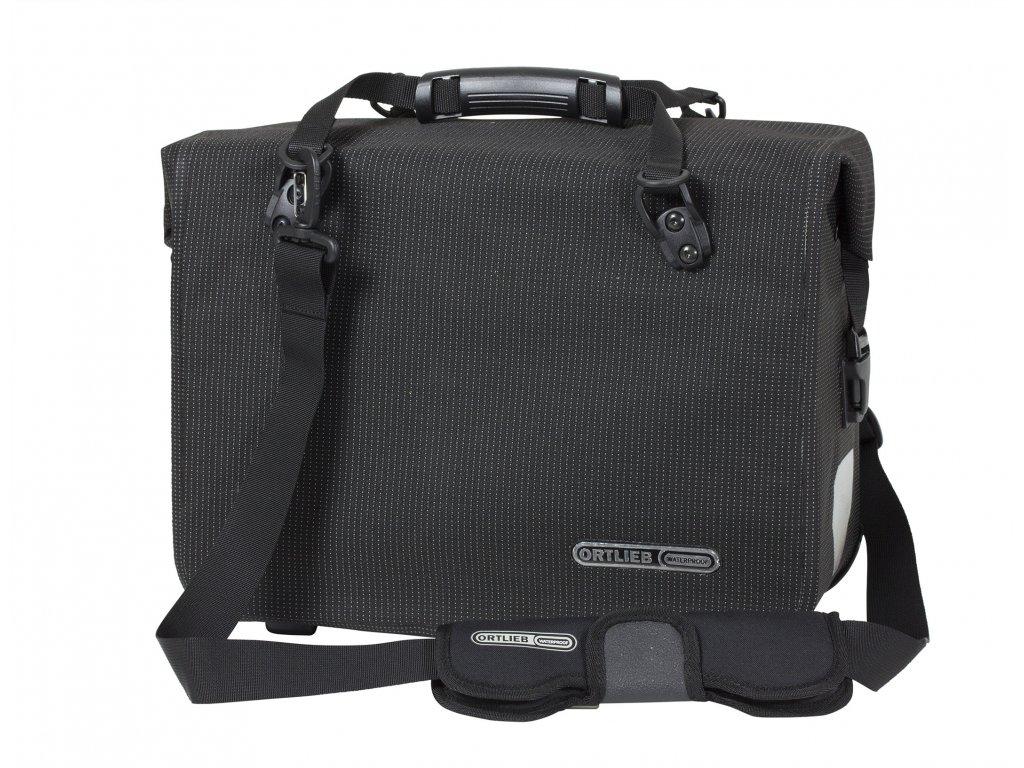 ORTLIEB Office-Bag High Visibility - reflexní černá - QL3.1 - 21 L