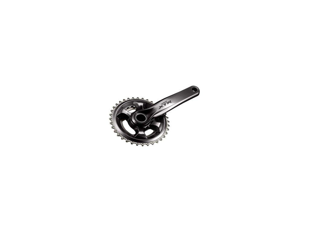 kliky Shimano XTR FC-M9000 2x11 34-24 zubů, bez misek