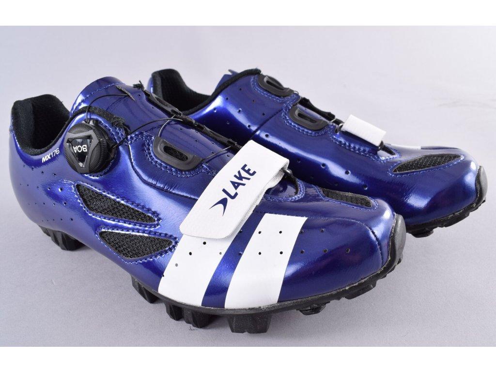 Tretry LAKE MX176 červeno/černé