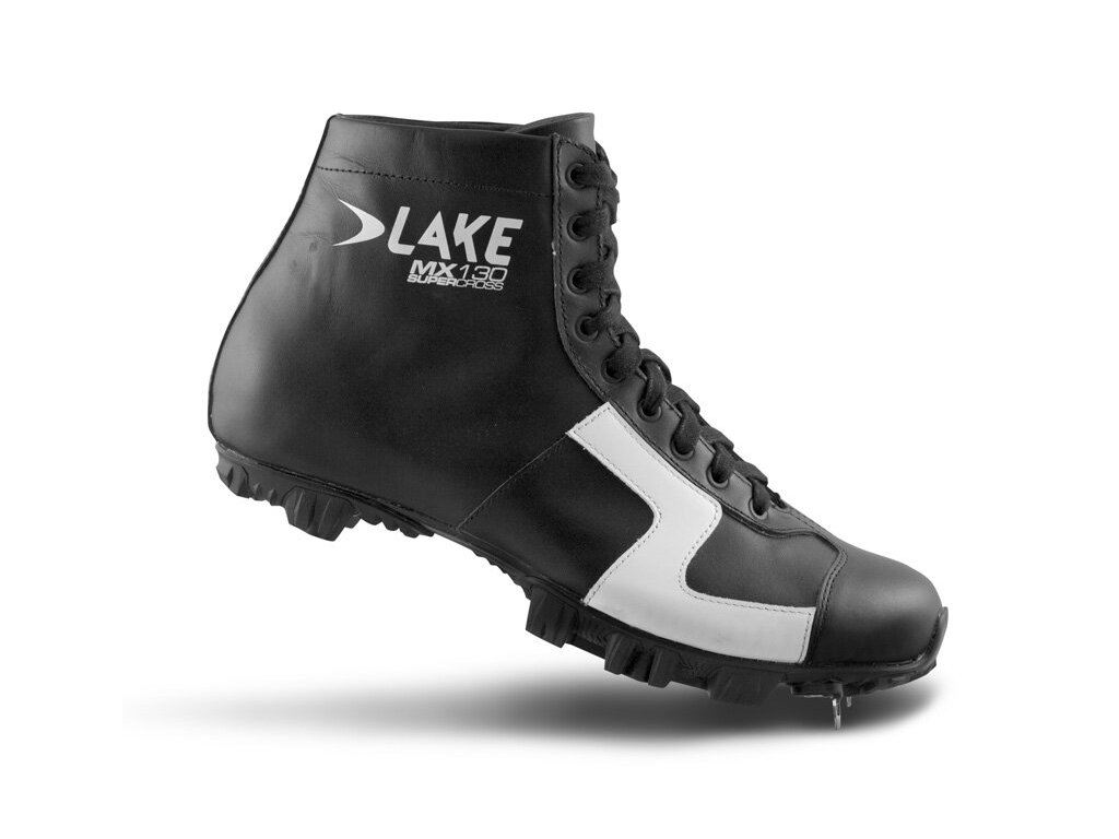 Tretry LAKE MX130 SuperCross černo/bílé