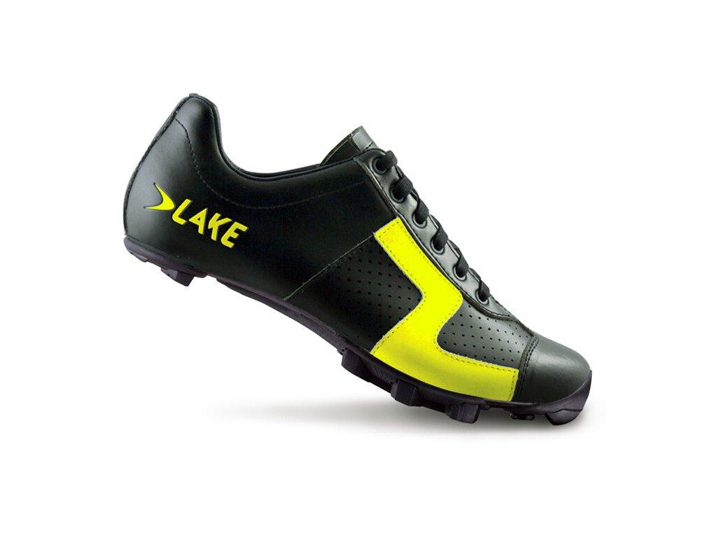 Tretry LAKE MX1C černo/fluo žluté