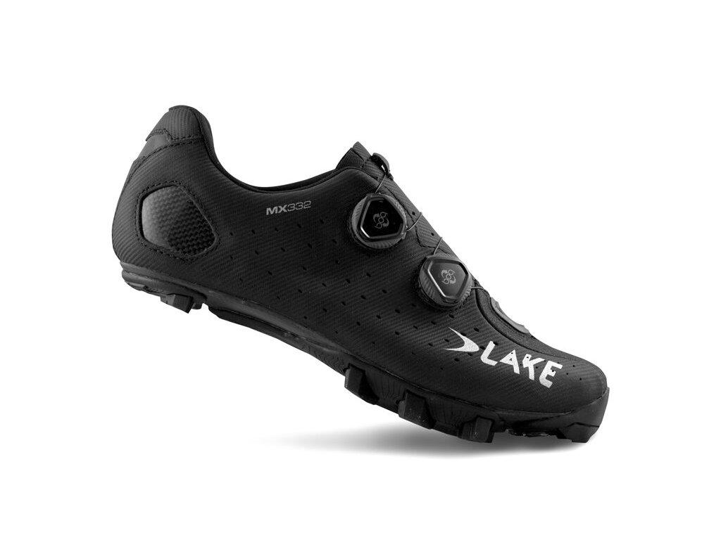 Tretry LAKE MX332 černo/stříbrné