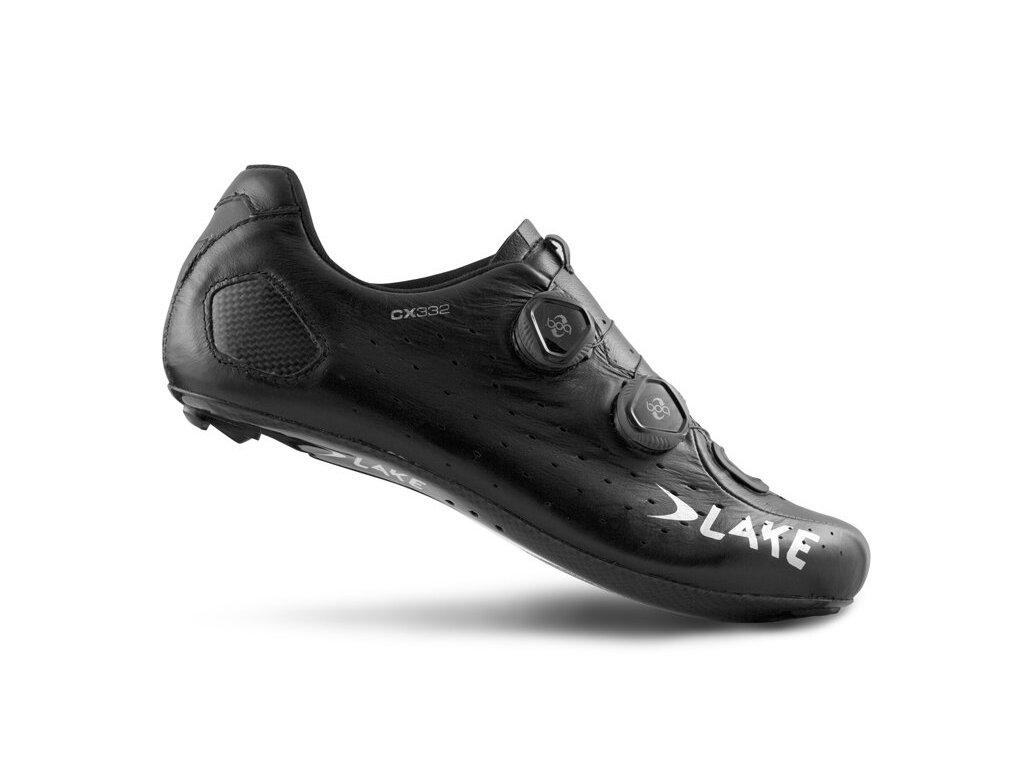 Tretry LAKE CX332 černo/stříbrné