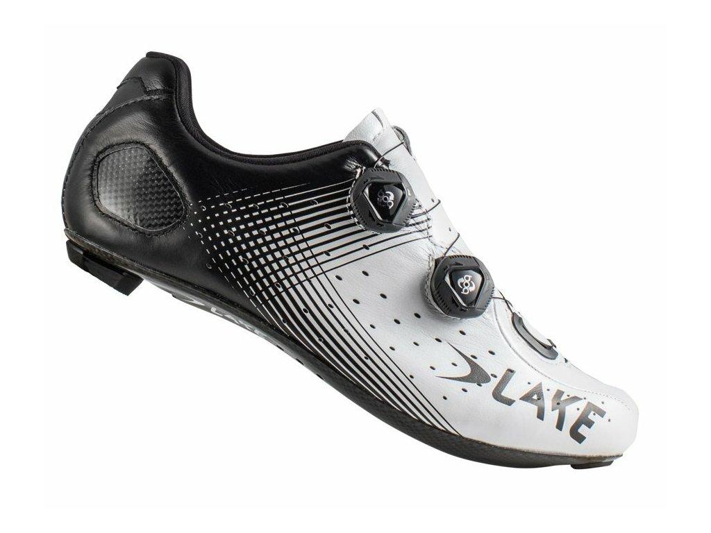Tretry LAKE CX332 bílo/černá graphic