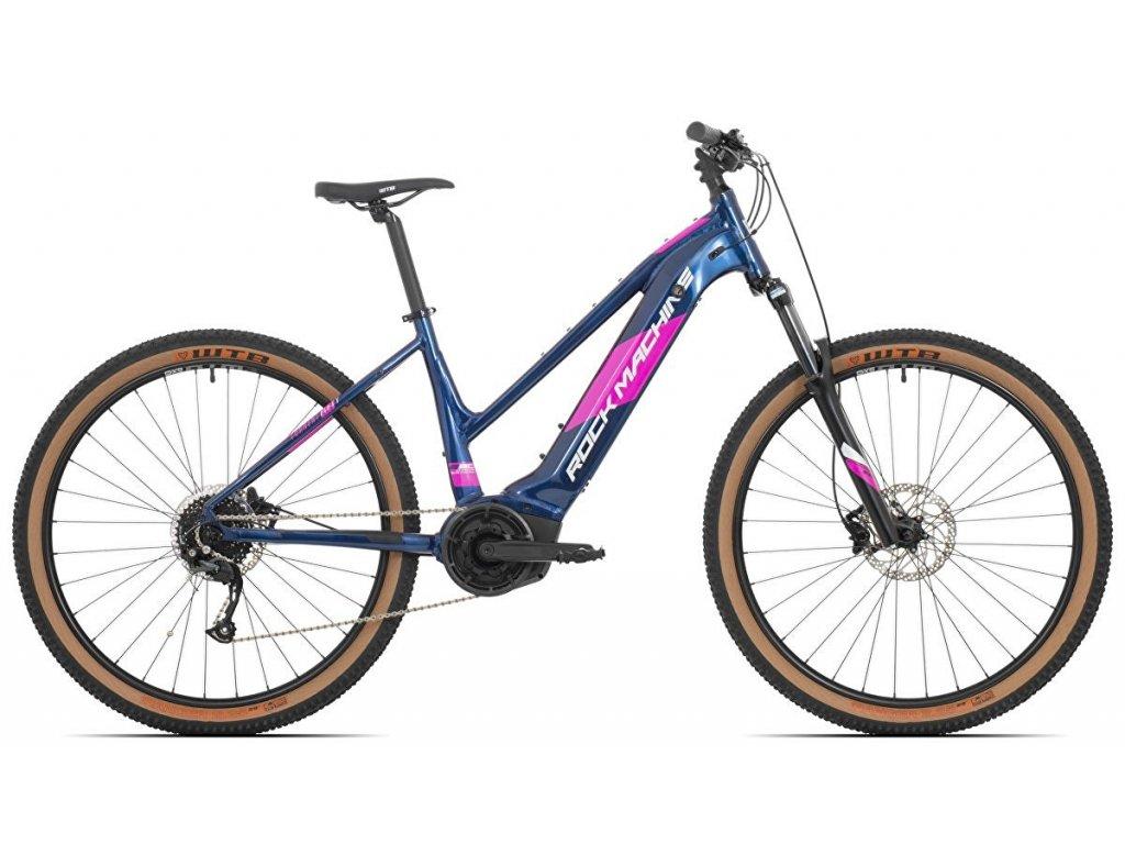 elektrokolo ROCK MACHINE Torrent INT e50-29 Bosch lady gloss dark blue/pink/silver
