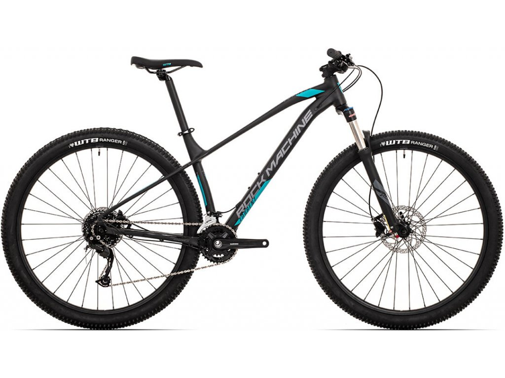 kolo Rock Machine Torrent 30-29 mat black/dark grey/petrol blue