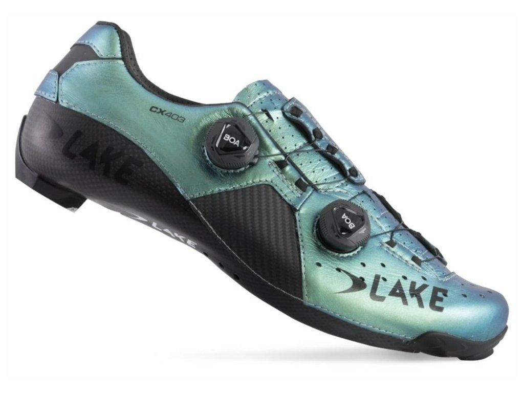 Tretry LAKE CX403 Carbon chameleon green