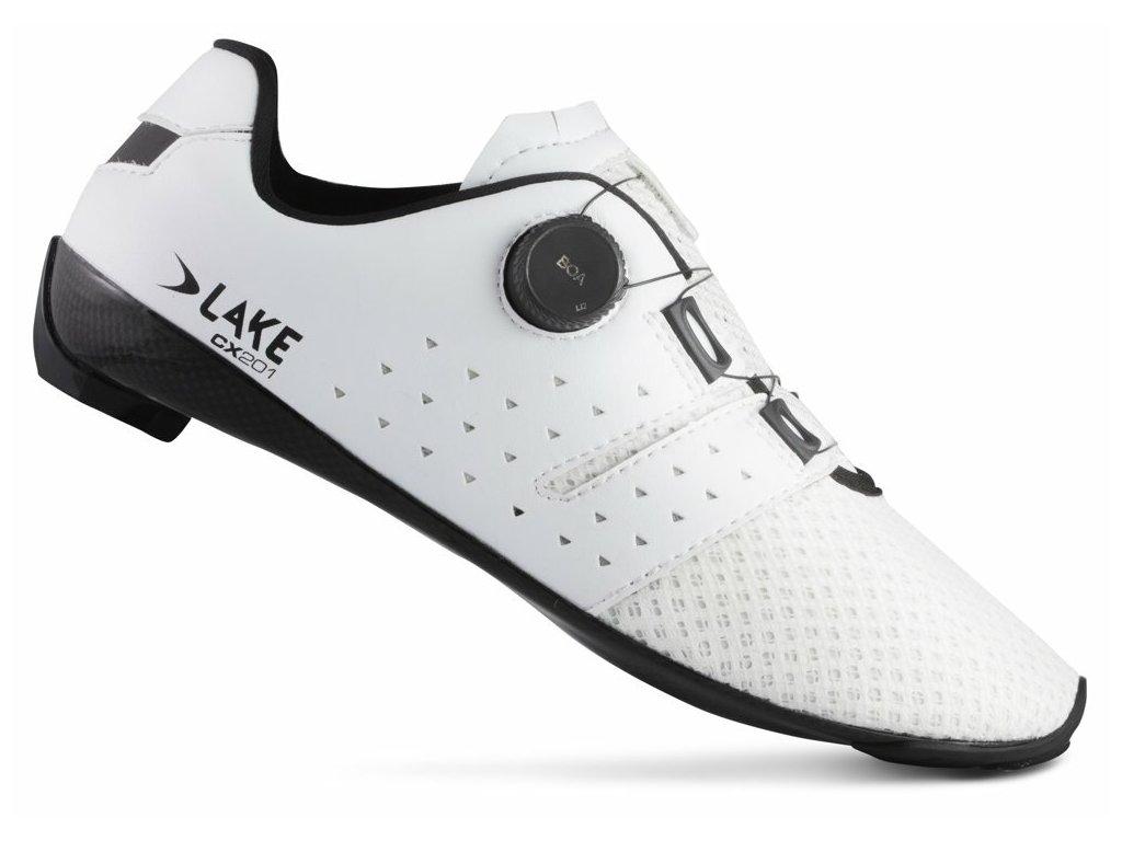 Tretry LAKE CX201 bílo/černé