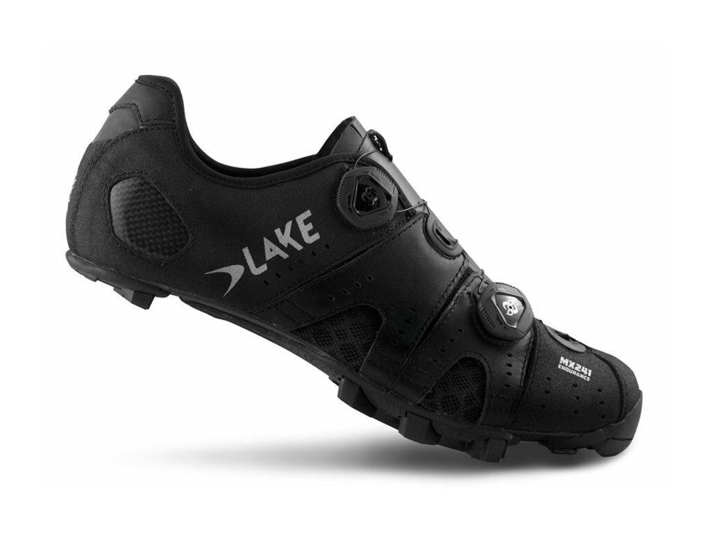 Tretry LAKE MX241WIDE černo/stříbrné