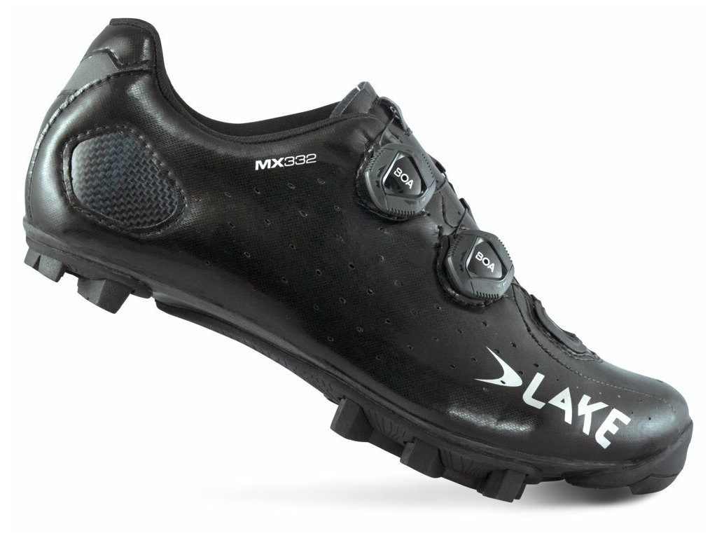 Tretry LAKE MX332 Lite černo/stříbrné