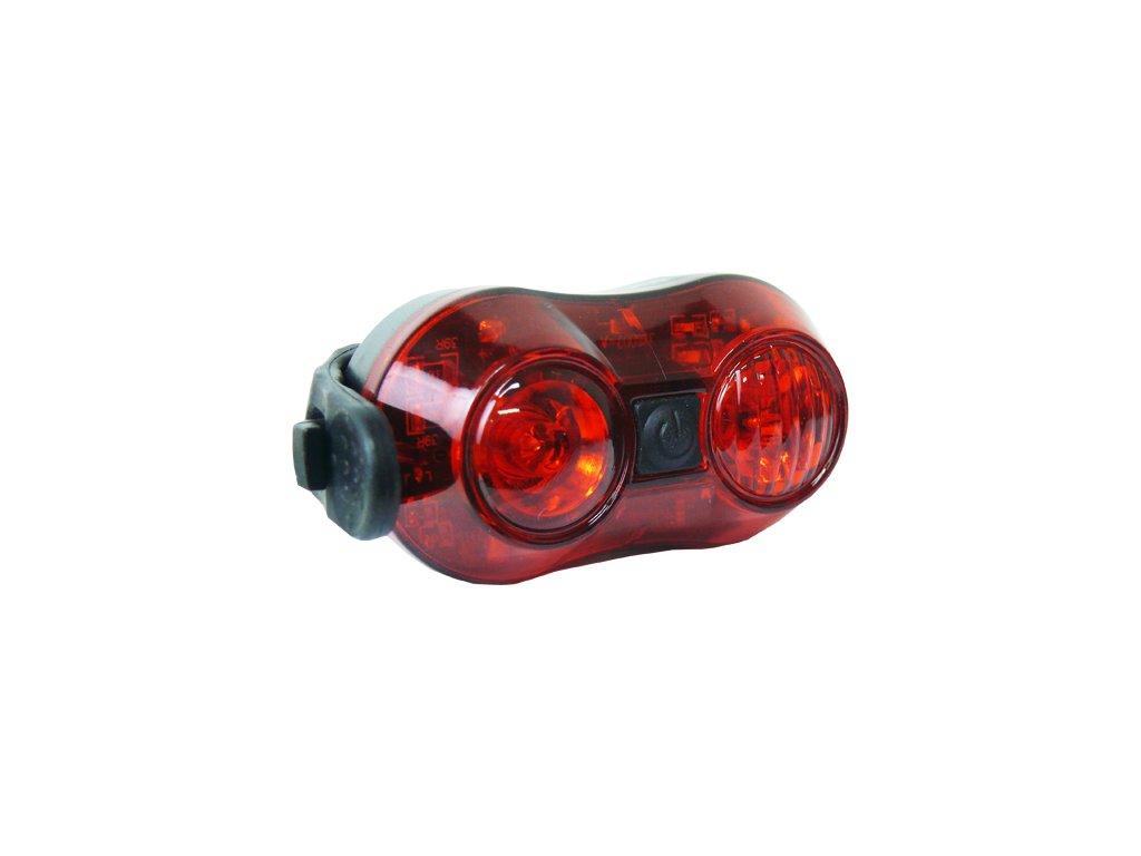 světlo zadní PROFIL JY-6002 2x LED USB nabíjecí
