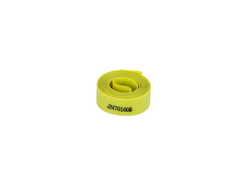 """velovložka 28"""" JOGON-NYLON 20mm žlutá"""