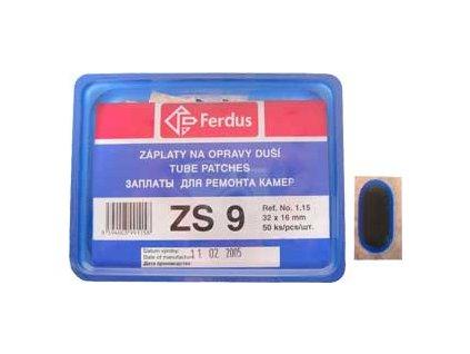záplaty Ferdus ZS 9 (balení 50ks)