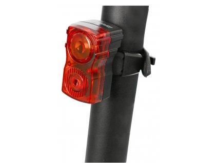 blikačka zadní MAXBIKE JY-6131T , vysoce svítivá USB