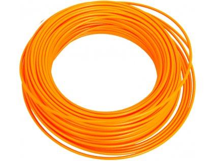 bowden brzd. 50m v sáčku reflexní oranžový