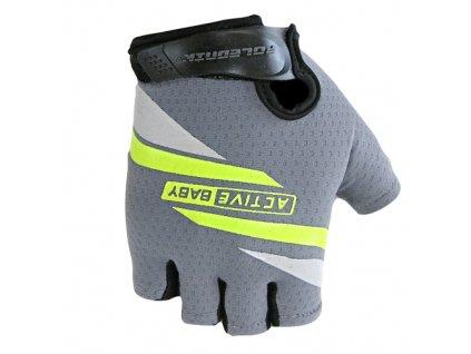 rukavice Active Baby šedé vel.4