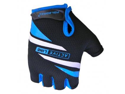 rukavice Active černo-modré vel.XXL