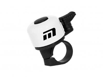 zvonek Baby bílý logo Maxbike