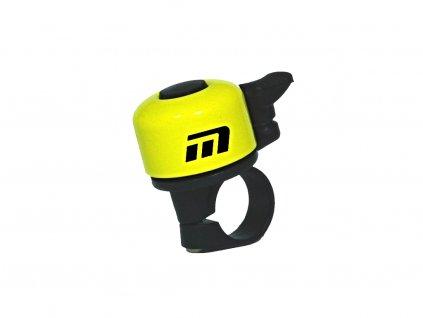zvonek Baby žlutý logo Maxbike