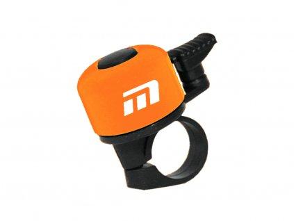 zvonek Baby oranžový logo Maxbike