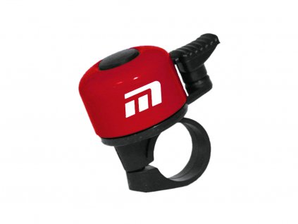 zvonek Baby červený logo Maxbike