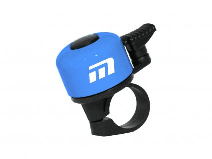 zvonek Baby světle modrý logo Maxbike
