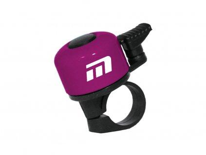 zvonek Baby fialový logo Maxbike