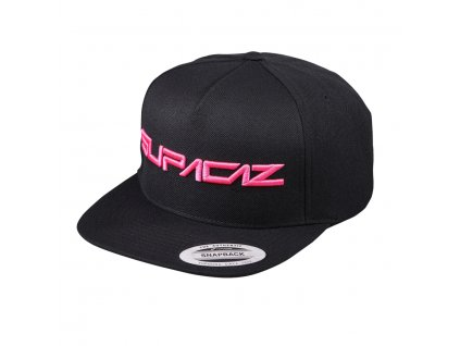 kšiltovka Supacaz Snapbax Hat černo-růžová