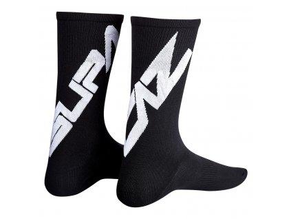 ponožky Supacaz Twisted černo-bílé S