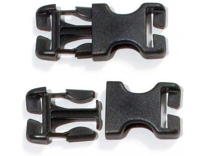 ORTLIEB - přezky 25 mm pro výměnu od roku 99