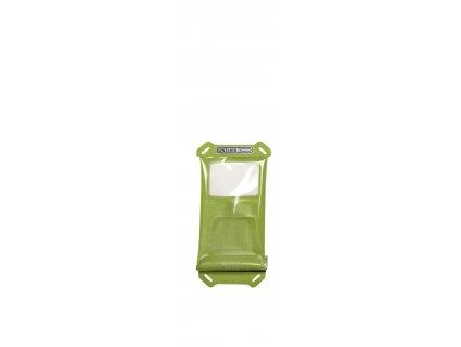 ORTLIEB Safe-it S - světle zelená / průhledná - 14x8 cm