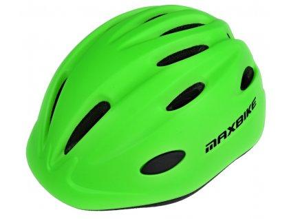 Cyklistické přilby Maxbike Kids (Velikost přilby S/M (52 - 56 cm))