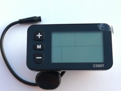 Komponenty k elektrokolům DISPEJ LCD C300T s plynovou páčkou skladem u CykloNovák.cz