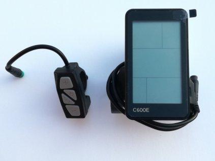 Komponenty k elektrokolům DISPEJ C600E USB skladem u CykloNovák.cz