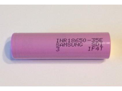 Komponenty k elektrokolům Li-ion článek Samsung 18650 F1L 3,6V 3,35Ah skladem u CykloNovák.cz