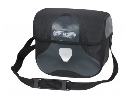 ORTLIEB Ultimate 6 L Classic - tmavě šedá / černá - L - 8.5 L