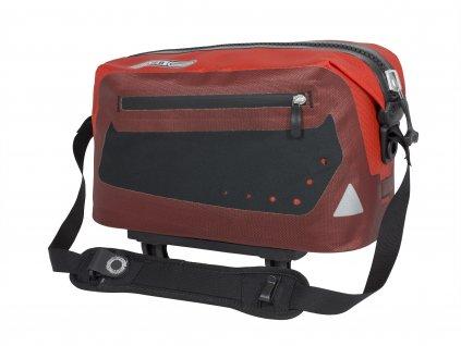 ORTLIEB Trunk-Bag - tmavě červená / červená - Rack-Lock - 8 L