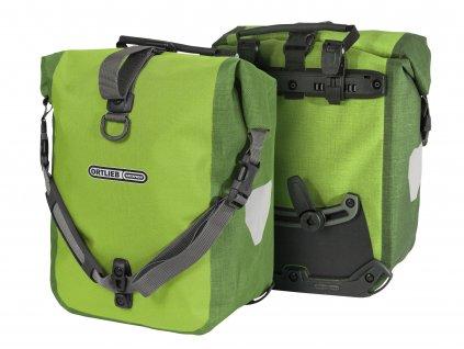ORTLIEB Sport-Roller Plus - světle zelená / zelená - QL2.1 - 25 L - pár