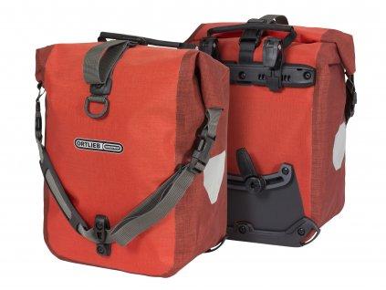 ORTLIEB Sport-Roller Plus - červená / tmavě červená - QL2.1 - 25 L - pár