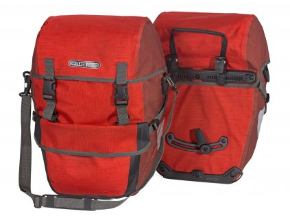 ORTLIEB Bike-Packer Plus - červená / tmavě červená - QL2.1 - 42 L - pár