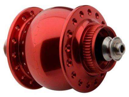 SONdelux - 32 děr, kotoučové brzdy / červené