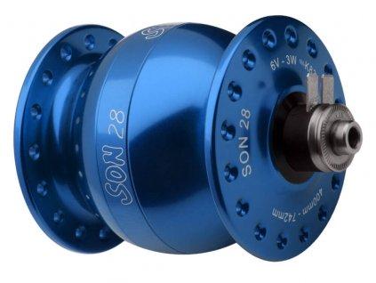 SON 28 - 36 děr, V-brzdy / Modrá anodized