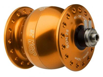 SON 28 - 36 děr, V-brzdy / Oranžová anodized