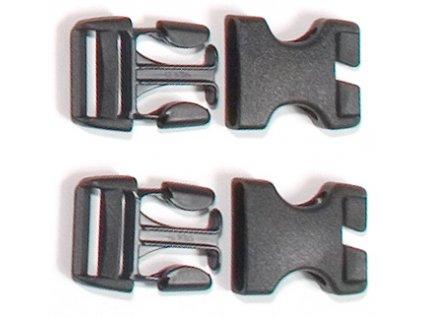 ORTLIEB - přezky 25 mm pro výměnu Rack pack a Back Roller od roku 99-dva páry