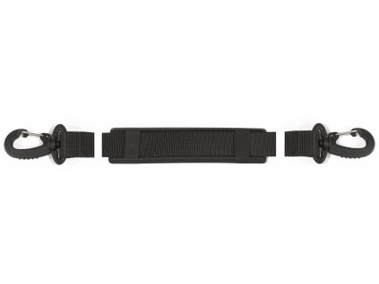 Shoulder strap with swivel hook; 140 cm