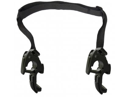 2 QL2.1 hooks with adjustable strap, 18mm