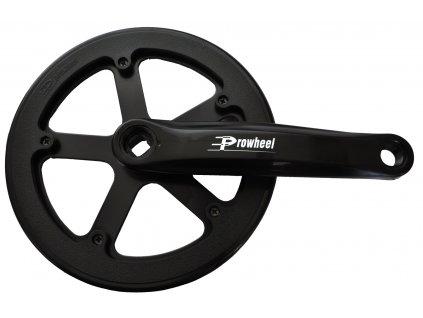 kliky Prowheel čtyřhran Al 170mm pro úzký řetěz