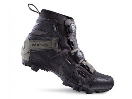 Tretry LAKE MX145 černo/šedé