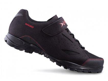 Tretry LAKE MX80 černo/červená