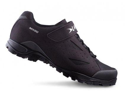 Tretry LAKE MX80 černo/stříbrné